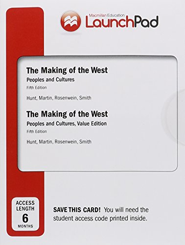 9781319021849: LaunchPad for The Making of the West (Six Month Access): Peoples and Cultures