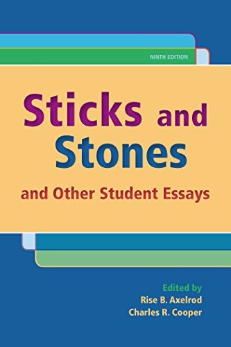 9781319023454: Sticks and Stones: And Other Student Essays