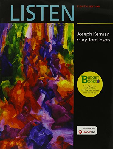 Loose-leaf Version for Listen & LaunchPad: Kerman, Joseph, Tomlinson,
