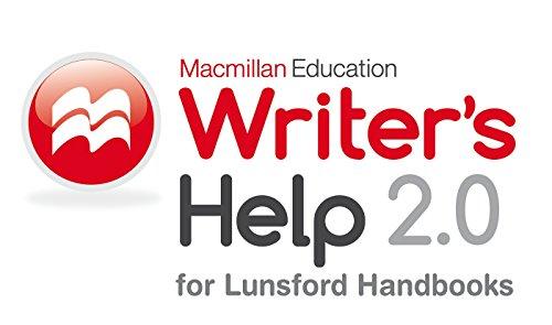 9781319025762: Writer's Help 2.0, Lunsford Version (Twelve Month Access)