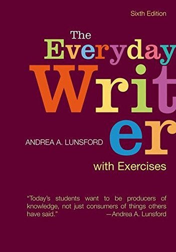 9781319027049: The Everyday Writer with Exercises