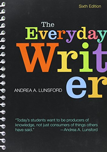 9781319027056: The Everyday Writer