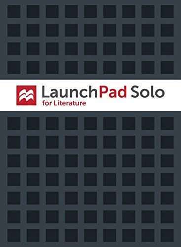9781319027346: LaunchPad Solo for Literature (Six Month Access)