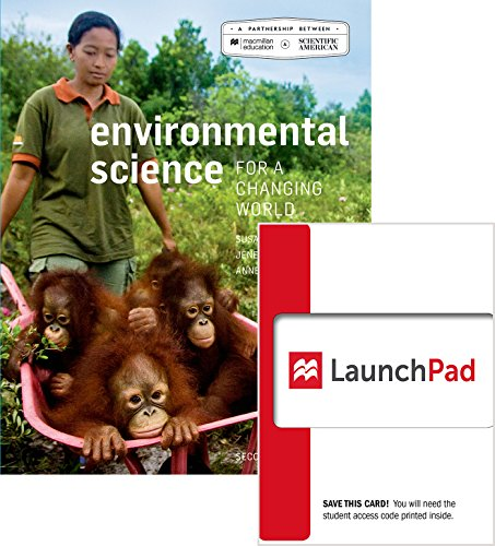 9781319028992: Bundle: Scientific American Environmental Science for a Changing World 2e & LaunchPad (6 Month Access)