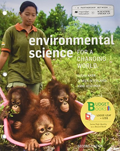 9781319029036: Loose-leaf Version for Scientific American Environmental Science for a Changing World 2e & LaunchPad for Scientific American Environmental Science for a Changing World (6 Month Access) 2e