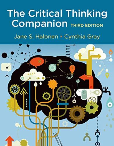 The Critical Thinking Companion: Halonen, Jane S.,
