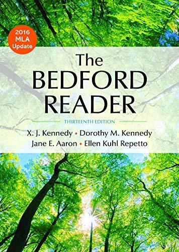 9781319030513: The Bedford Reader