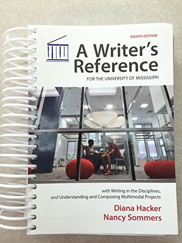 9781319030865: A Writer's Reference for the University of Mississippi