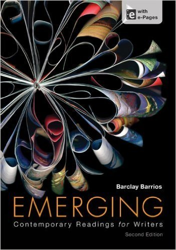 9781319031824: Emerging: Contemporary Readings for Writers 2nd edition + A Pocket Style Manual 7th edition