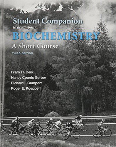 9781319032951: Student Companion for Biochemistry: A Short Course