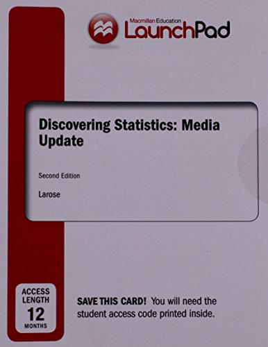 9781319034733: LaunchPad for Discovering Statistics Media Update