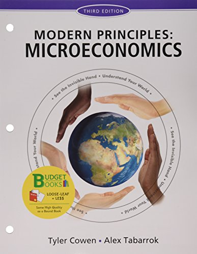 9781319036065: Loose-leaf Version for Modern Principles of Microeconomics & LaunchPad (Six Month Access)