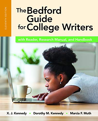 9781319039592: The Bedford Guide for College Writers with Reader, Research Manual, and Handbook