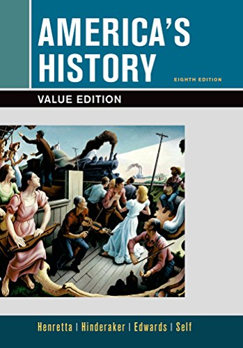 9781319040369: America's History, Value Edition, Combined Volume