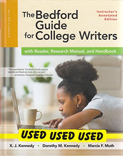 Amazon. Com: the bedford guide for college writers with reader.