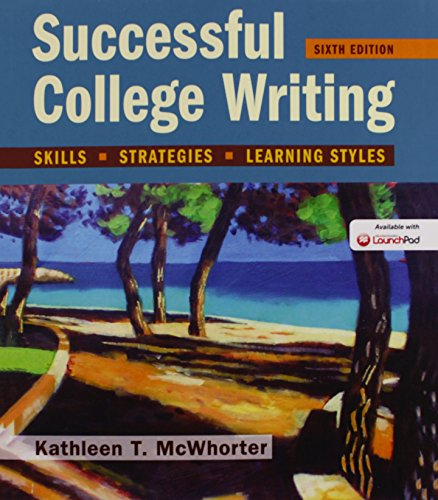 9781319051426: Successful College Writing: Skills, Strategies, Learning Styles