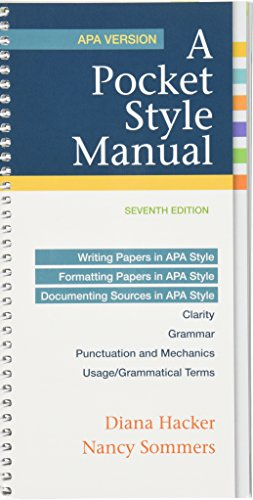 9781319053338: A Pocket Style Manual, APA Version 7e & LaunchPad Solo for A Pocket Style Manual 7e (Six Month Access)