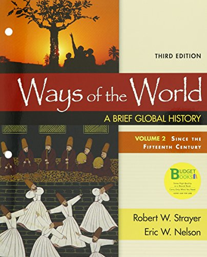 9781319053741: Loose-leaf Version for Ways of the World: A Brief Global History, Volume 2