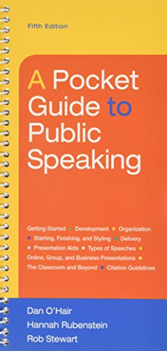 9781319055349: Pocket Guide to Public Speaking 5e & LaunchPad (Six Month Access)