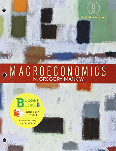 9781319055431: Loose-leaf Version for Macroeconomics 9e & LaunchPad for Mankiw's Macroeconomics (Six Month Access)