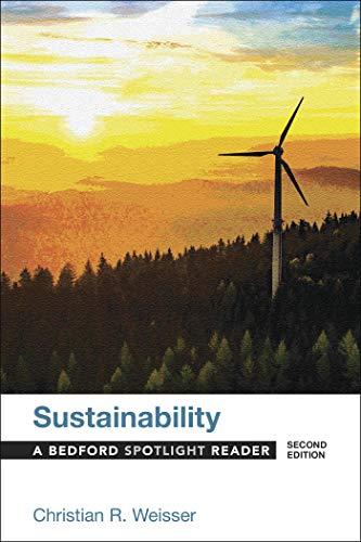 9781319056612: Sustainability: A Bedford Spotlight Reader