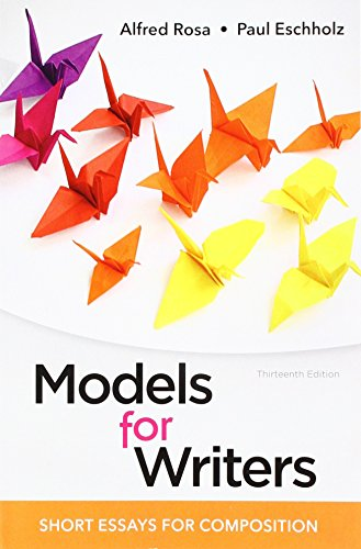 9781319056650: Models for Writers: Short Essays for Composition