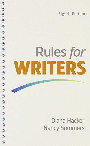 9781319057190: Rules for Writers