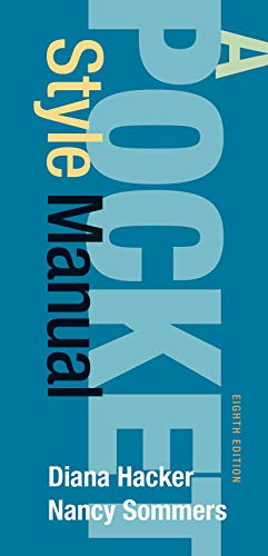 9781319057404: A Pocket Style Manual