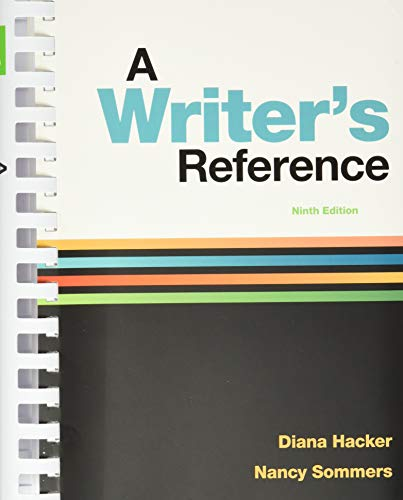 9781319057442: A Writer's Reference