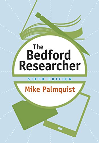 The Bedford Researcher: University Mike Palmquist