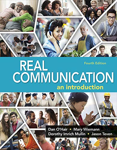 9781319059491: Real Communication: An Introduction