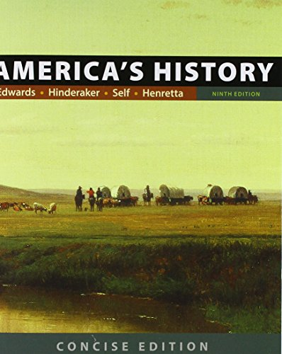 9781319059538: America's History: Concise Edition, Combined Volume