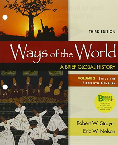 9781319059941: Loose-leaf Version for Ways of the World, Volume 2 3e & LaunchPad for Ways of the World 3e (Six Month Access)