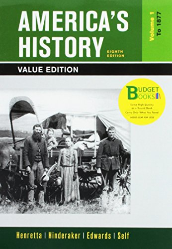 9781319059989: Loose-leaf Version of America's History, Value Edition, Volume 1 8e & LaunchPad for America's History Volume I 6e & America: A Concise History, Volume I 6e (Six Month Access)