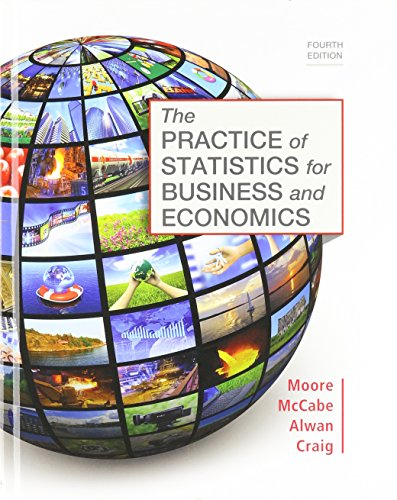 9781319061166: Practice of Statistics for Business and Economics 4e & Launchpad for Moore's the Practice of Statistics for Business and Economics 4e (12 Month Access