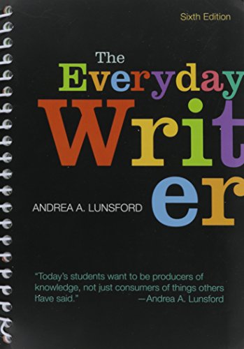 9781319061227: Everyday Writer [With Access Code]