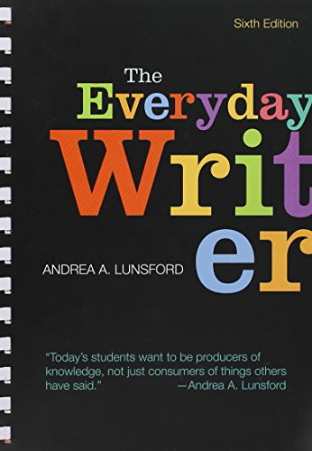 9781319061258: The Everyday Writer 6e (Comb) & Launchpad for the Everyday Writer and the Everyday Writer with Exercises 6e (Twelve Month Access) [With Access Code]