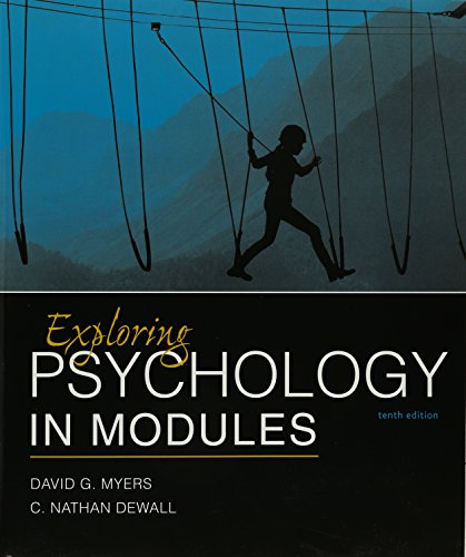 9781319061524: Exploring Psychology in Modules 10e & Launchpad for Myers's Exploring Psychology in Modules 10e (Six-Month Access) [With Access Code]