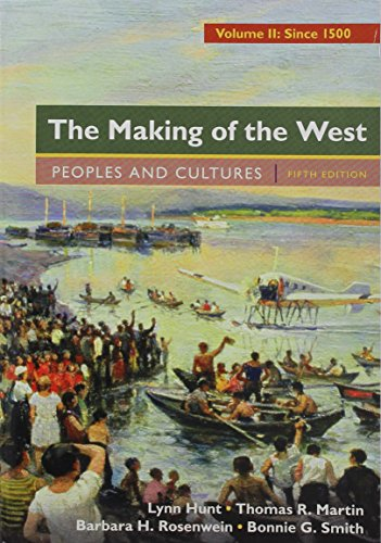 9781319066666: The Making of the West, Volume 2: Since 1500 5e & Sources of The Making of the West, Volume II: Since 1500 4e