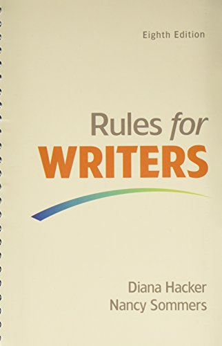 9781319067892: Rules for Writers with Writing about Literature (Tabbed Version) 8e & LaunchPad Solo for Rules for Writers 8e (Twelve Month Access)