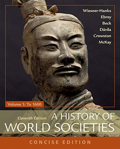 9781319070151: A History of World Societies, Concise, Volume 1