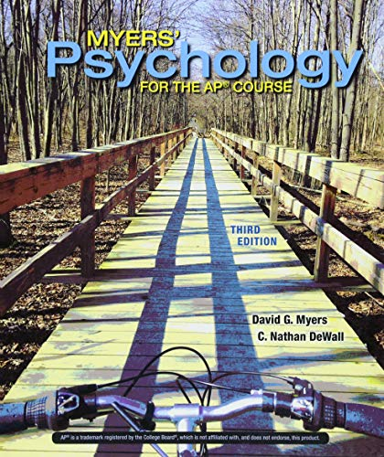9781319070502: Myers' Psychology for the Ap(r) Course