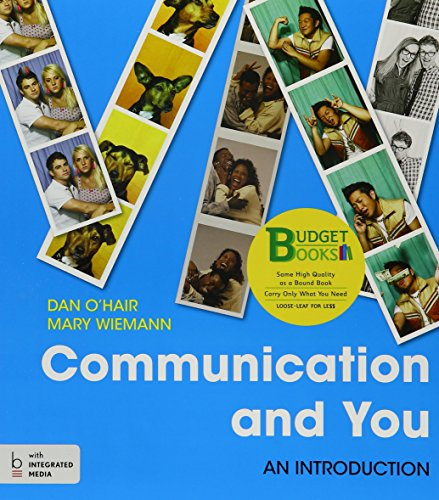 9781319071615: Loose-leaf Version for Communication and You 1e & LaunchPad for Communication and You (Six Month Access)
