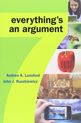 9781319072711: Everything's an Argument 7e & LaunchPad Solo for Readers and Writers (Six-Month Access)