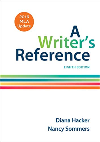 9781319083533: A Writer's Reference with 2016 MLA Update