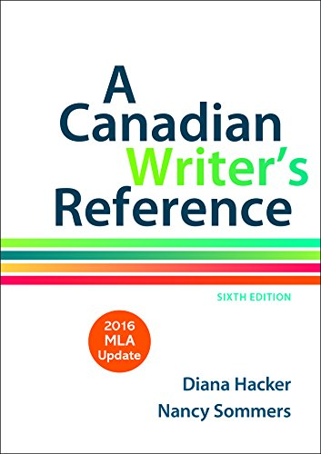 9781319083571: A Canadian Writer's Reference with 2016 MLA Update