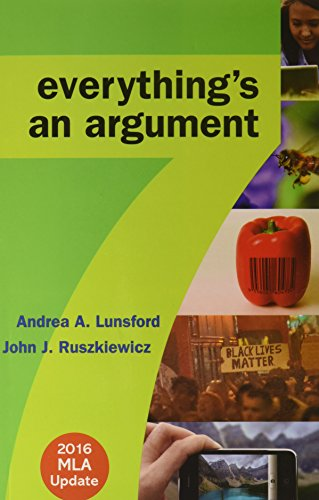 9781319085711: Everything's an Argument 7e with 2016 MLA Update & LaunchPad for Everything's an Argument with Readings 7e (Six Month Access)