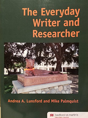9781319098278: Everyday Writer & Research - University of Laverne