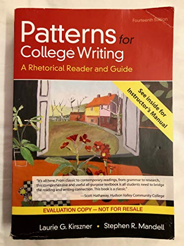 9781319106676: patterns for college writing