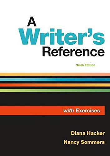 9781319106966: A Writer's Reference with Exercises